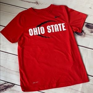 Nike • Ohio State football youth dri fit tee